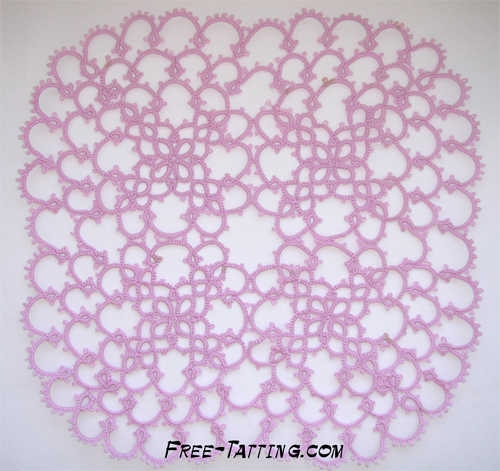 tatted doily free pattern