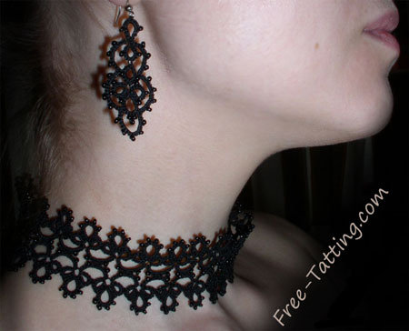 tatted earrings free patterns