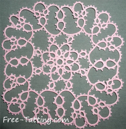 Antique Pattern Library Tatting