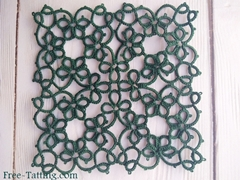 Big tatting square