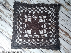 big crochet square