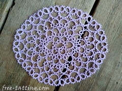 tatting doilies