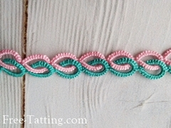 double tatting chine