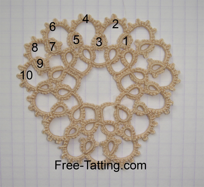 tatted doily patterns free
