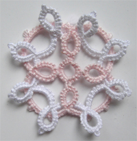 tatted motif free pattern